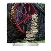 Old Grist Mill Vermont Shower Curtain