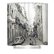 Old Habana Shower Curtain