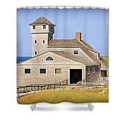 Old Harbor Lifesaving Station--cape Cod Shower Curtain