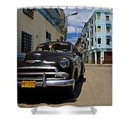 Old Havana Shower Curtain