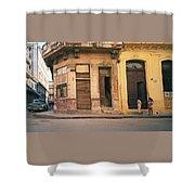 Life In Old Havana Shower Curtain