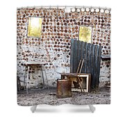 Old Home Interior Shower Curtain