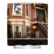 Old Homestead Shower Curtain by Margie Hurwich