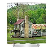 Old House In Penrose Nc Shower Curtain