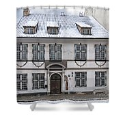 Old House In Riga Shower Curtain