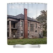 Old House Of Character Shower Curtain