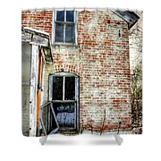 Old House Two Windows 13104 Shower Curtain