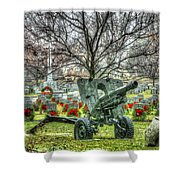 Old Howitzer Shower Curtain