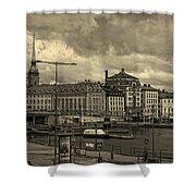 Old In Memory But Modern Copenhagen Shower Curtain