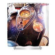 Vintage Indian 2 Shower Curtain