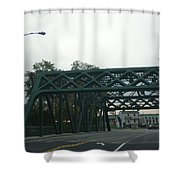 Old Iron Bridge Shower Curtain