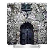 Old Italian House Shower Curtain