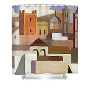 Old Jerusalem Shower Curtain