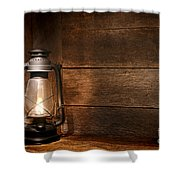 Old Kerosene Light Shower Curtain