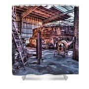 Old Kilns Shower Curtain
