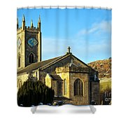 Old Kilpatrick Church 01 Shower Curtain