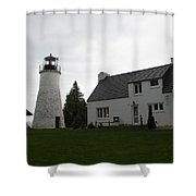 Old Light Shower Curtain