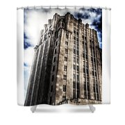 Old Macomb Tower Shower Curtain