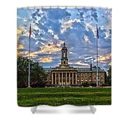Old Main At Sunset Shower Curtain