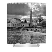 Old Mill And Banquet Hall Shower Curtain