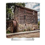 Old Mill At Forbidden Caverns Shower Curtain