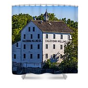 Old Mill In Caledonia Ontario Shower Curtain