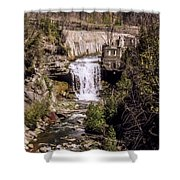 Old Mill On The Credit Shower Curtain
