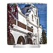 Old Mission San Luis Rey - California Shower Curtain