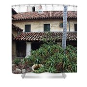 Old Mission Santa Barbara Shower Curtain