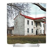 Old Missouri Mansion Shower Curtain