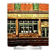 Old National Bank Of Thurmond Shower Curtain