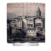 Old New District Shower Curtain