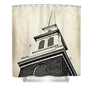Old North Church In Boston Shower Curtain
