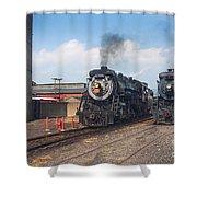 Old Number 3254 Under Steam Shower Curtain