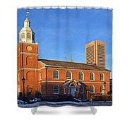 Old Otterbein United Methodist Church Shower Curtain