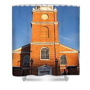 Old Otterbein United Methodist Church Entry Shower Curtain