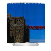Old Pabst Brewery Shower Curtain