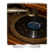 Old Phonograph Shower Curtain