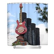 Old Plant New Life - Baltimore Inner Harbor Shower Curtain
