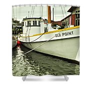 Old Point St. Michaels Shower Curtain