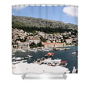 Old Port Shower Curtain