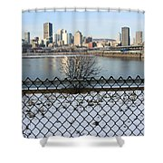 Old Port Of Montreal Shower Curtain