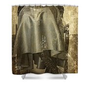 Old Portrait Shower Curtain