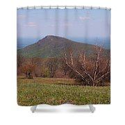 Old Rag Mountain Shower Curtain