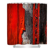 Old Red Barn One Shower Curtain