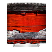 Old Red Barn Three Shower Curtain