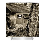 Old Red Mill Shower Curtain