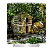 Old Rice Grist Mill Shower Curtain