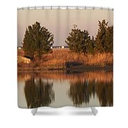 Old Roads And Bridges South Jersey Shower Curtain