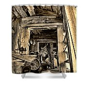 Old Rockers Attic Shower Curtain